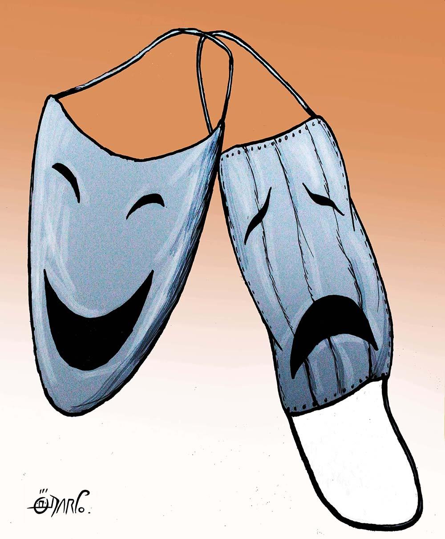 [劇場のマスク] / Theater's Masks