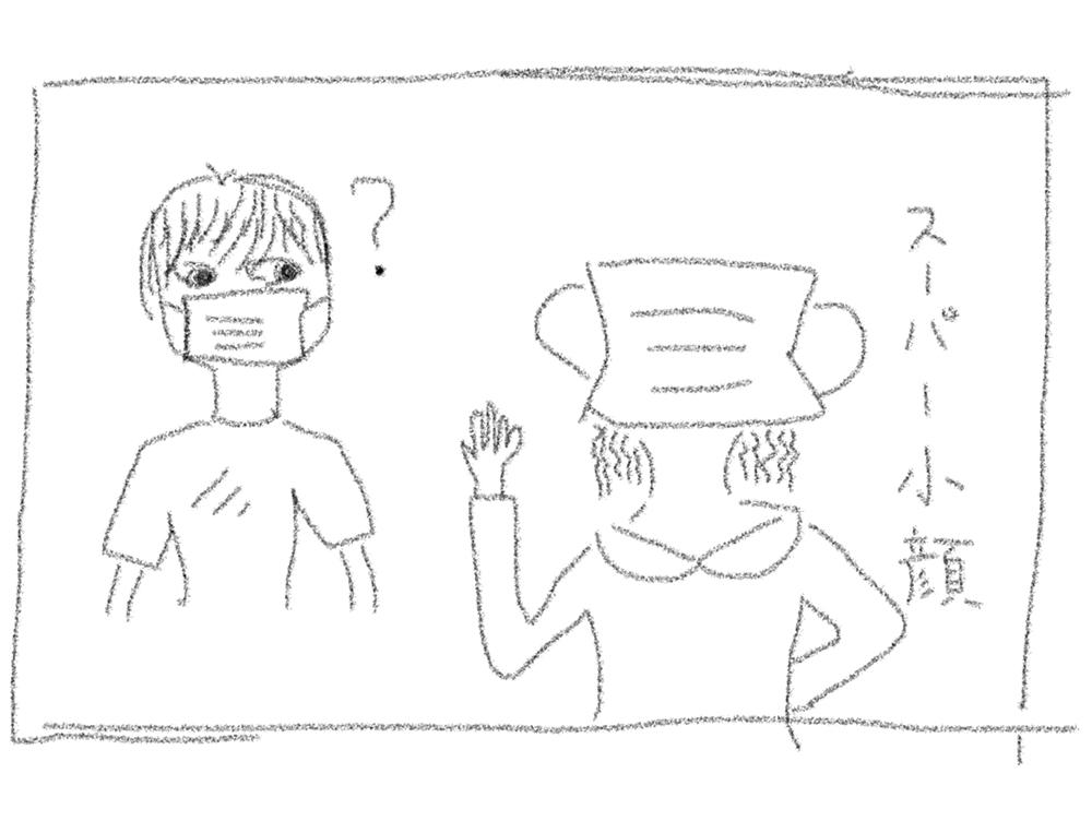 スーパー小顔